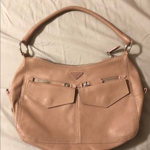 Authentic Prada pocket leather purse